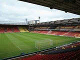A general view of Vicarage Road, home of Watford on May 4, 2013