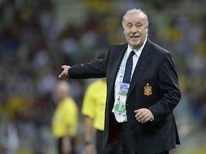 Del Bosque: 'Spain deserve criticism'