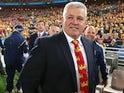 Lions head coach Warren Gatland smiles after their victory during the International Test match between the Australian Wallabies and British & Irish Lions at ANZ Stadium on July 6, 2013