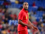 Ashley Williams of Wales in action during the International Friendly match between Wales v Ireland at the Cardiff City Stadium on August 14, 2013