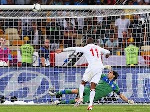 England's penalty shootout failures