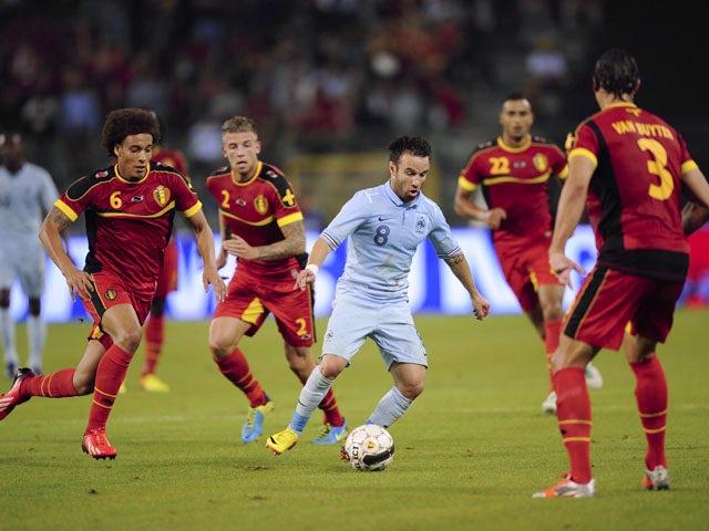 Result: Goalless between France and Belgium