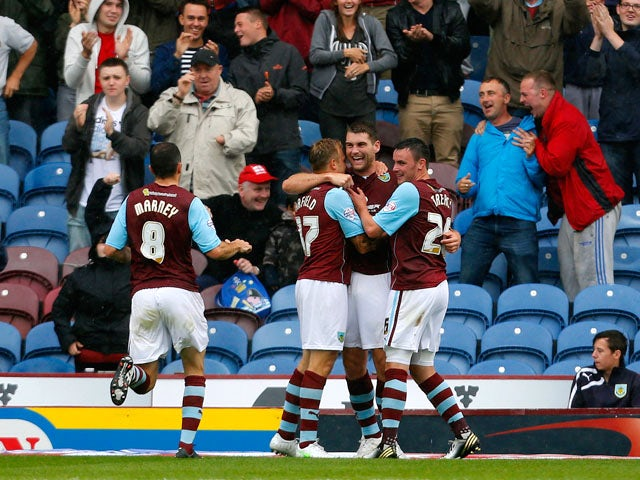 Result: Burnley put two past Yeovil Town