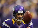 Minnesota Vikings' Chris Kluwe in action on November 11, 2012