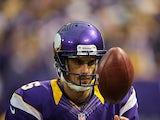 Minnesota Vikings' Chris Kluwe in action on November 11, 2012