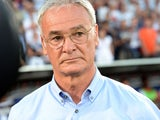 Monaco's Italian coach Claudio Ranieri looks on before the kick of a French L1 football match between Bordeaux and Monaco on August 10, 2013