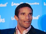 David James former England goalkeeper talks during the Leaders In Sport conference at Stamford Bridge on October 11, 2012