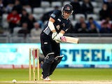 Northamptonshire's David Willey in action on August 17, 2013