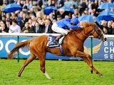 Dawn Approach on his way to victory in the 2000 Guineas at Newmarket on May 4, 2013