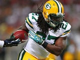 Green Bay Packers' Eddie Lacy in action August 17, 2013