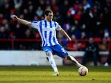 Gordon Greer of Brighton and Hove Albion during the npower Championship match between Nottingham Forest and Brighton and Hove Albion at City Ground on March 30, 2013