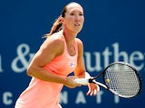 Jelena Jankovic of Serbia plays Roberta Vinci of Italy during the Western & Southern Open on August 16, 2013