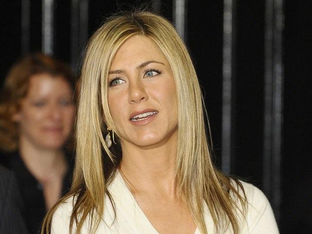 Jennifer Aniston on March 29, 2010