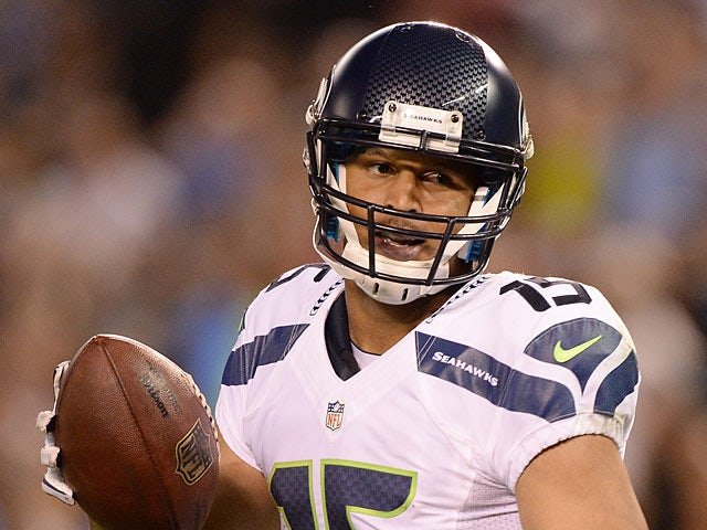 Seattle Seahawks' Jermaine Kearse in action on August 8, 2013