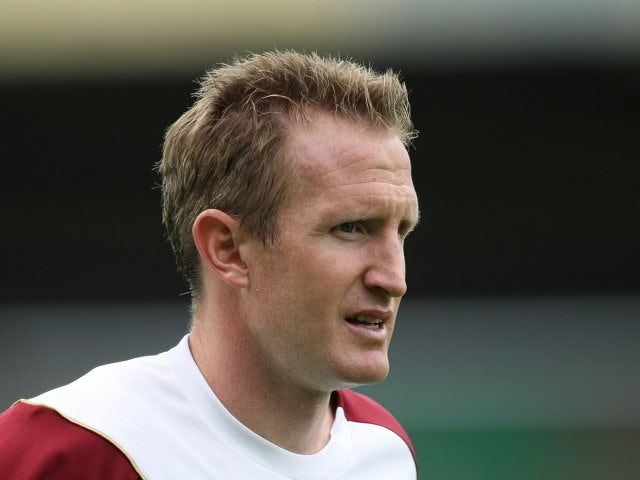 John Curtis during his stint with Northampton Town.