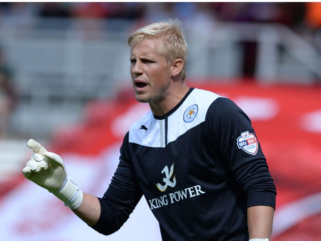 Result: Schmeichel rescues point for Foxes