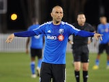 Montreal Impact's Marco Di Vaio in action on February 23, 2013