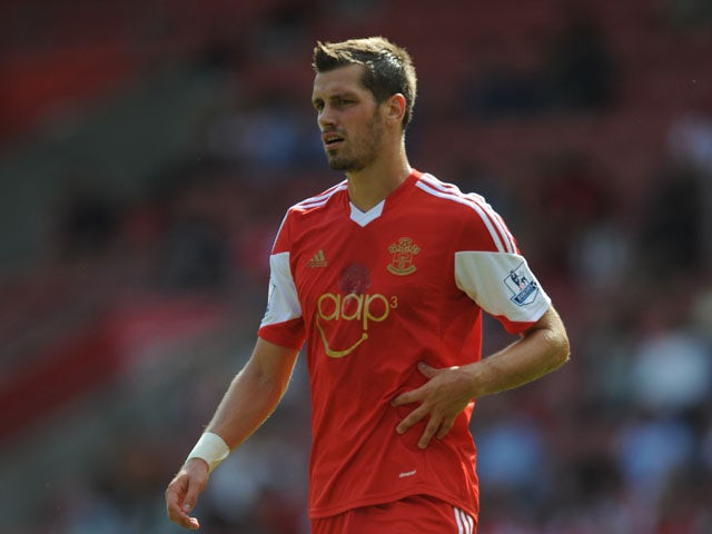 Morgan Schneiderlin of Southampton during the pre season friendly match between Southampton and Real Sociedad at St Mary's Stadium on August 10, 2013