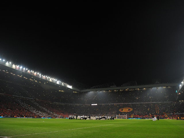 A general view of Old Trafford on March 5, 2013