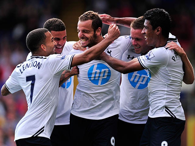 Result: Soldado penalty wins it for Spurs at Palace
