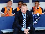 Steve Lomas, manager of Millwall looks on from the dugout before the Sky Bet Championship match between Millwall and Yeovil Town at The Den on August 03, 2013