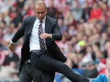 Sunderland's Italian manager Paolo Di Canio reacts during the English Premier League football match between Sunderland and Fulham at the Stadium of Light, Sunderland, northeast England, on August 17, 2013