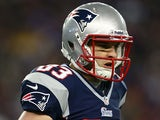 New England Patriots' Wes Welker in action on January 20, 2013