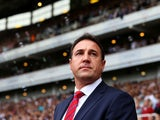 Manager of Cardiff City, Malky Mackay looks on during the Barclays Premier League match between West Ham United and Cardiff City at the Bolyen Ground on August 17, 2013