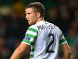 Celtic's Adam Matthews in action on September 19, 2012