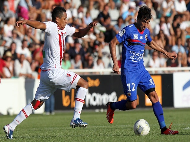 Ajaccio v Nice - August 25, 2013