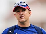 England coach Andy Flower at the fifth Ashes test on August 25, 2013