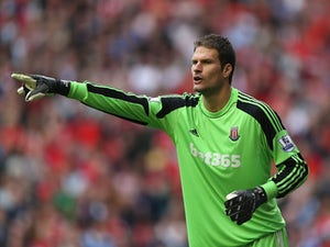 Begovic doubtful for Hull clash