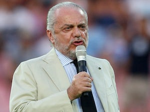 Napoli president airlifted from burning yacht