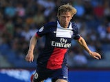 Paris Saint-Germain's French midfielder Clement Chantome runs with the ball during a friendly football match between PSG and SK Sturm Graz, in Graz some 200km south of the Austrian capital on July 9, 2013