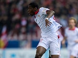 Sevilla's Geoffrey Kondogbia in action against Atletico Madrid on January 31, 2013