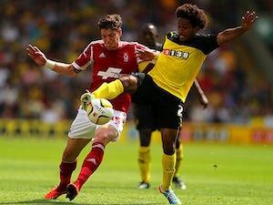 Anya strike gives Watford half-time lead