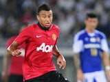 Manchester United's Jesse Lingard in action during a friendly match against Yokohama F.Marinos on July 23, 2013