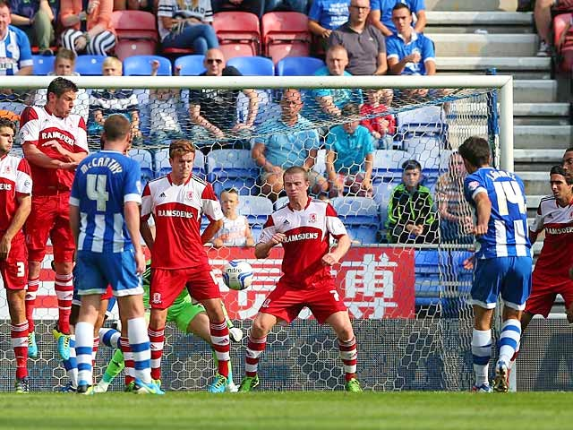 Result: Gomez strikes late to rescue point for Wigan