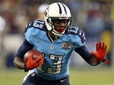 Tennessee Titans' Kendall Wright in action against New York Jets on December 17, 2012