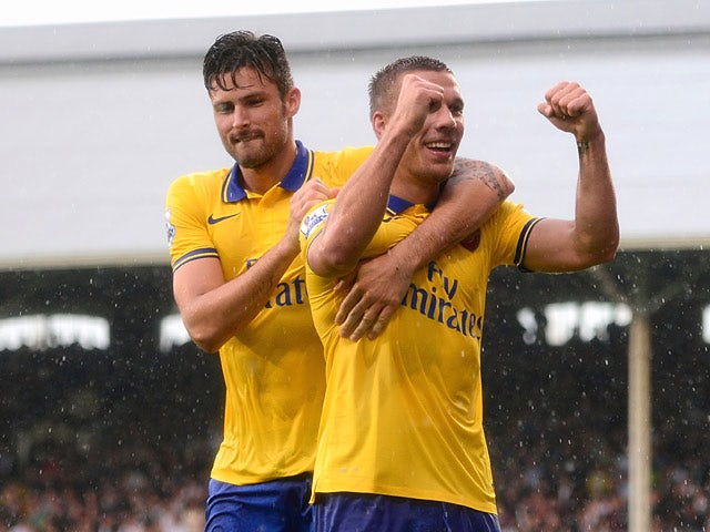 Result: Arsenal win at Craven Cottage