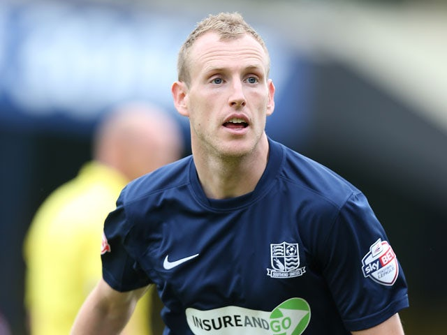 Marc Laird of Southend United in action during the Sky Bet League Two match between Southend United and Northampton Town at Roots Hall on August 17, 2013