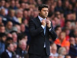 Southampton manager Mauricio Pochettino on the touchline during the match against West Brom on August 17, 2013