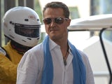 German F1 driver Michael Schumacher photographed in Bangkok on December 16, 2012