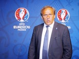 UEFA President Michel Platini attends the EURO 2016 Logo & Slogan Launch on June 26, 2013