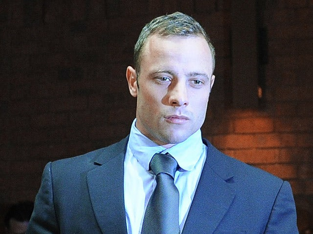 Oscar Pistorius appearing at the Magistrate Court in Pretoria on February 22, 2013