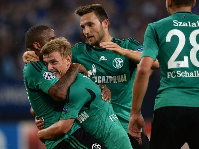 Result: Schalke secure qualification