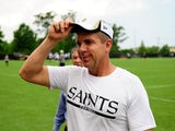 Saints coach Sean Payton at practice on May 23, 2013