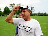 Saints coach Sean Payton at practice on May 23, 2013