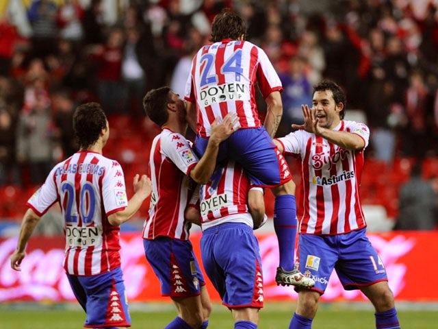 Result: Gijon squeeze past Real Madrid Castilla