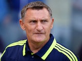 Middlesbrough boss Tony Mowbray on the touchline on August 3, 2013